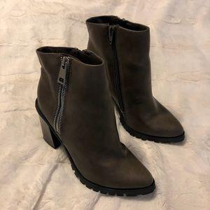 mossimo heeled booties